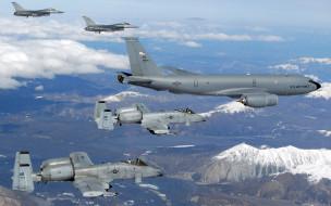 истребитель, авиационная группа, военная авиация, сопровождение