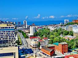 владивосток, города, - улицы,  площади,  набережные, улица, россия, здания, город