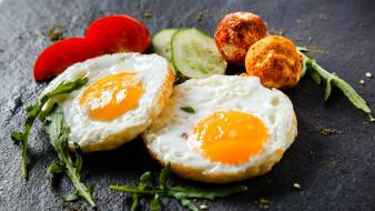 еда, Яичные блюда, яичница