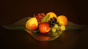 виноград, груши