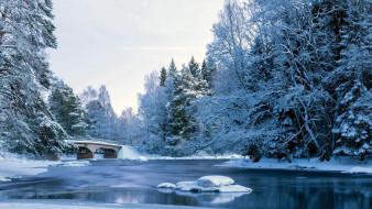 мост, Зима
