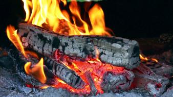 природа, огонь, жар