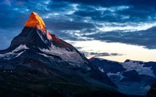 природа, горы, вершина