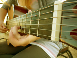 гитара, гриф