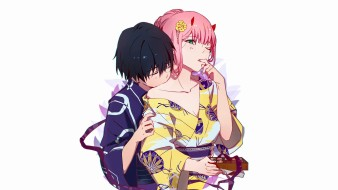 аниме, darling in the frankxx, любовь
