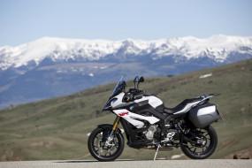 горы, мотоцикл