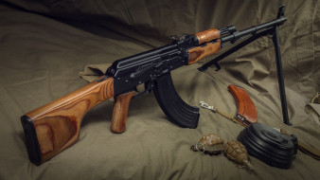 пулемёт, weapon, оружие, РПК, RPK, machine gun