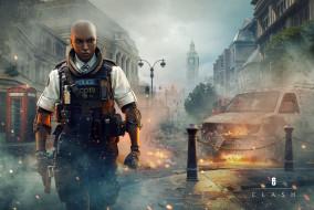 видео игры, tom clancy`s rainbow six,  siege, rainbow, six, siege, скриншот, персонаж, clash, tom, clancys