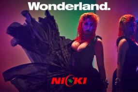 певица, nicki minaj, wonderland, журнал, 2018