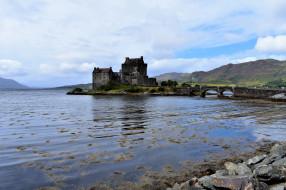 eilean donan castle, города, замок эйлен-донан , шотландия, eilean, donan, castle