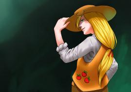 шляпа, девушка, фон