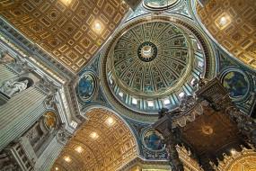 роспись, храм, купол, свод