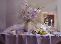 цветы, гладиолусы, натюрморт, фарфор, ноты, фото