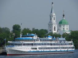 Илья Муромец, круиз, река, теплоход