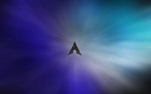 компьютеры, linux, фон, логотип