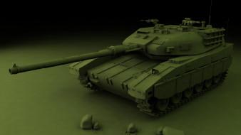 техника, 3d, танк