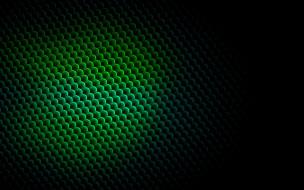 зеленый, тень, соты