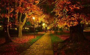 листопад, осень