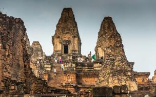 Ангкор, Angkor, Cambodia, Ruins, Камбоджа, Руины