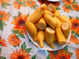 еда, бананы