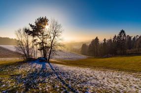 природа, восходы, закаты, простор
