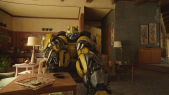 кадры из фильма, бамблби, bumblebee, фантастика, 2018, сша, боевик
