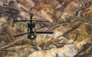 wallhaven, ch-47, боинг, чинук, военные вертолеты, пейзаж, вид с воздуха