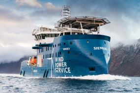 windea, корабли, другое, siemens, wallhaven, синий, корабль, море