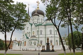 благовещенский кафедральный собор, города, - православные церкви,  монастыри, церковь, благовещенский, кафедральный, собор, воронеж, храм, россия