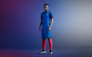 сборная франции по футболу, синяя униформа, nike, французский футболист, anthony martial