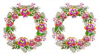венки, цветы