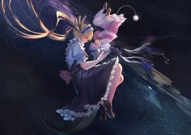 аниме, kobayashi-san chi no maid dragon, взгляд, девушки, фон