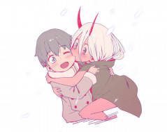 аниме, darling in the frankxx, darling, in, the, frankxx, девушка, милый, во, франксе