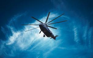Halo, Вертолет, Небо, ВВС России, ОКБ Миля, Ми-26, ВВС, Россия, СССР, madeinkipish, Тяжёлый транспортно-десантный вертолёт, Ми 26, Советский вертолет