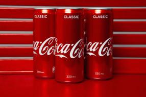 баночки, напиток, Coca-Cola, Кока-Кола