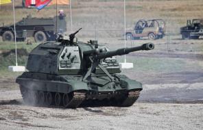 2с19 мста-с, техника, военная техника, военная, сухопутные, войска, россии, самоходная, гаубица, 2с19, мста-с