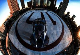 fenyr supersport, автомобили, fenyr, гиперкар, фотоэффект, wallhaven, крыша, fisheye, lens, supersport, benoit, fraylon, город