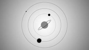 gray, circle, galaxy, black, space