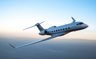 gulfstream aerospace, aircraft, g650er, частный самолет