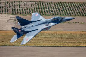 авиация, боевые самолёты, ввс, польши, миг-29а, многоцелевой, истребитель