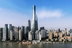 города, шанхай , китай, шанхай, небоскребы, здания, город