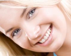 женщина, взгляд, лицо, улыбка
