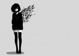 аниме, tokyo ghoul, девушка