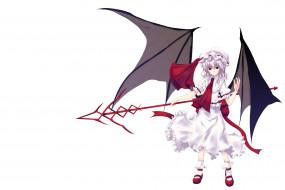 аниме, touhou, демон