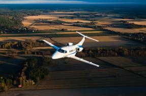 высота, самолёт, бизнес, джет, небо, полёт