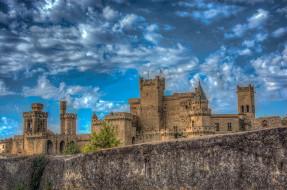 palacio real de olite -navarra-espa&, 241, города, замки испании, простор