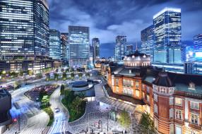tokio, города, токио , Япония, простор