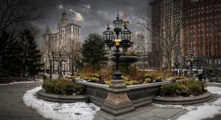 new york, города, нью-йорк , сша, простор