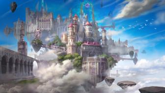 фэнтези, замки, замок