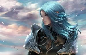 фэнтези, эльфы, девушка
